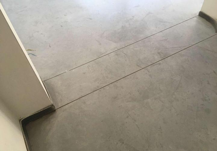 Vloerconcept - Gepolierde betonvloer - Kleur : naturel