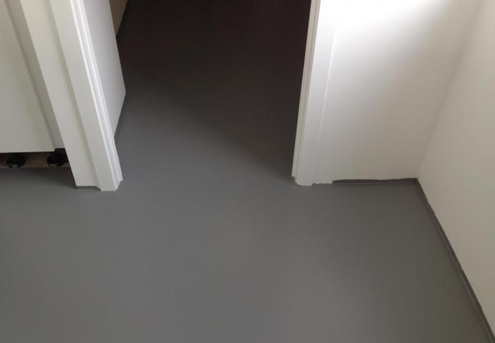 Vloerconcept - PU gietvloer - RAL 7037
