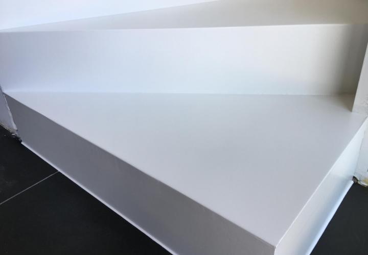 Vloerconcept - PU trapbekleding - RAL 9003