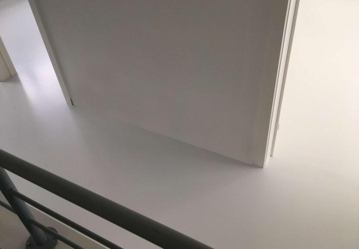 Vloerconcept - PU gietvloer - RAL 9003