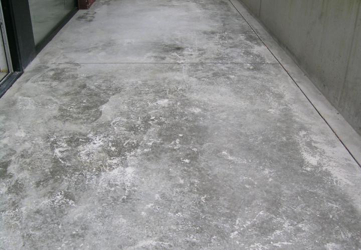 Vloerconcept - gepolierde betonvloer terras