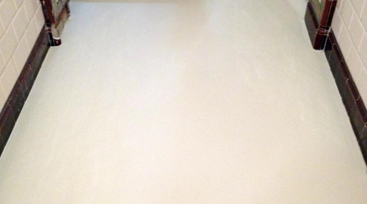 Vloerconcept - PU gietvloer - RAL 1015