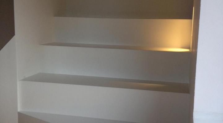 Vloerconcept - PU trapbekleding - RAL 9010