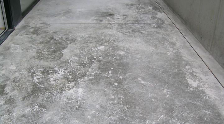 Vloerconcept - gepolierde betonvloer - terras